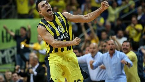 Eurolega, Sloukas trascina il Fenerbahce. Zalgiris corsaro ad Atene