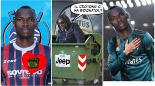 """Dopo Crotone-Juve sul web è già """"Cristiano Simy"""": e parte l'hashtag #rovesciamo"""
