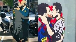Tvboy sorprende ancora:Guardiola e Mourinho si baciano