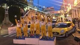 Rally di San Remo: terzo posto per la coppia Martinelli - Baldacci