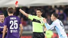 Giudice sportivo: un turno a Luis Alberto e Murgia, 5 mila euro di multa a Tare