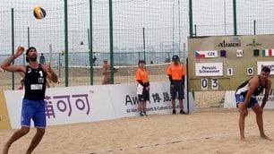 Beach Volley: Xiamen non porta bene agli italiani: eliminati Ranghieri-Caminati