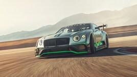 Bentley Continental GT3, lusso da corsa