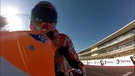 Marquez nega problemi con Valentino