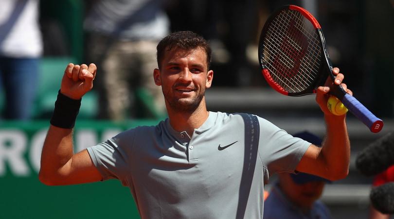 Tennis, Dimitrov è il primo semifinalista di Montecarlo