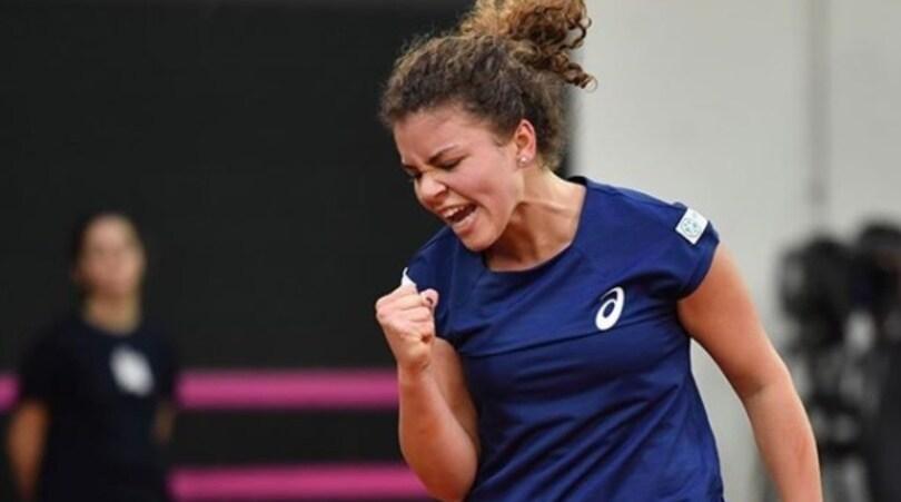 Fed Cup, Italia-Belgio:Paolini e Mertens aprono le danze