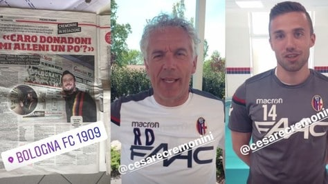 Il Bologna risponde a Cremonini: «Vieni ad allenarti con noi»