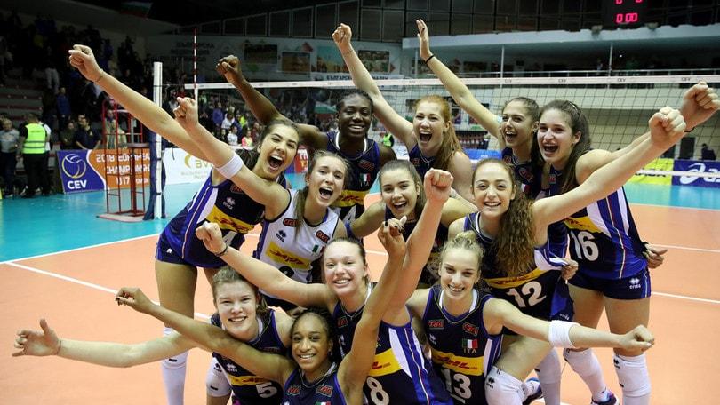 Volley: Europei Under 17, per le azzurre continua il sogno: sono in finale