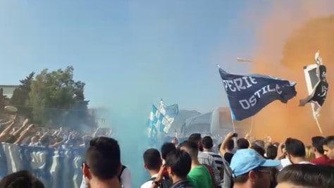 «Napoli torna campione»: che entusiasmo a Capodichino!