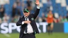 Serie A Sassuolo, Iachini: «I ragazzi danno sempre il massimo»