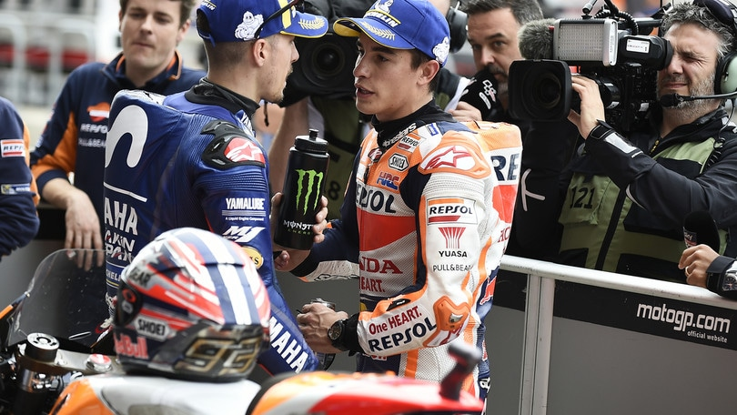 MotoGp Usa, Marquez: «Bella pole. Dispiace essere sotto investigazione»
