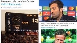 Il web impietoso con il Milan dopo il ko con il Benevento
