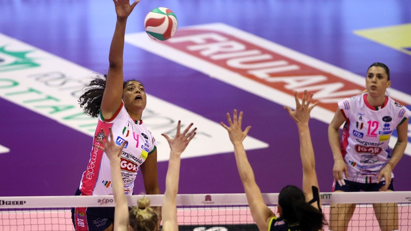 Volley: A1 Femminile, Conegliano pareggia i conti con Novara