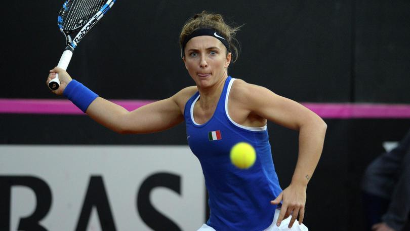 Tennis: Fed Cup, Italia-Belgio 0-3