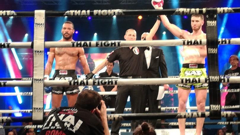 Muay Thai, altra vittoria per Casella
