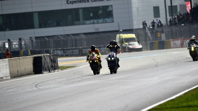 Le Mans, 24 ore di moto: trionfo della Honda CB R1000
