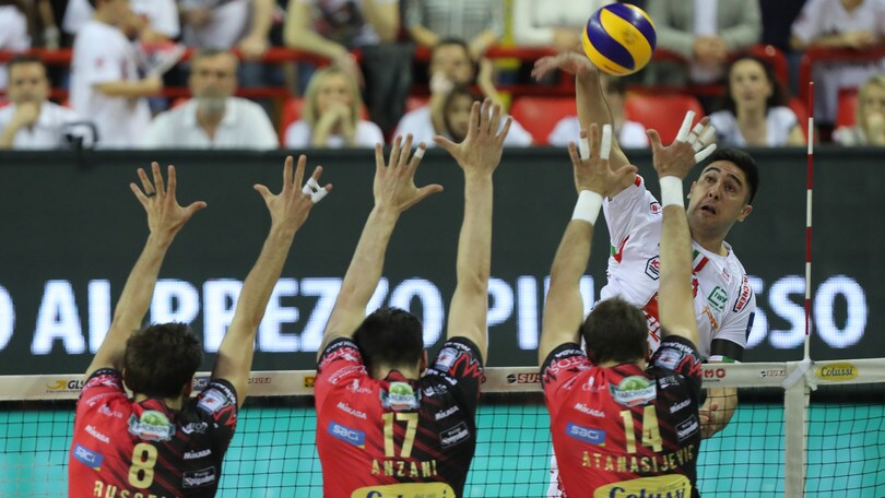 Volley: Finale Play Off: Perugia vince il primo round