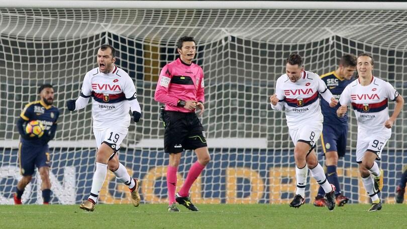 Serie A Genoa-Verona, formazioni ufficiali e tempo reale alle 20.45. Dove vederla in tv