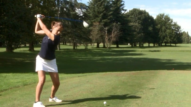 Alessandra Averna: «Il golf, il mio modo per stare bene»