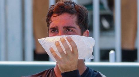 Tennis: infortunio Kokkinakis, salterà il Roland Garros