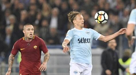 Lazio, Lucas Leiva: «Stasera forza Liverpool e al ritorno sarò all'Olimpico»