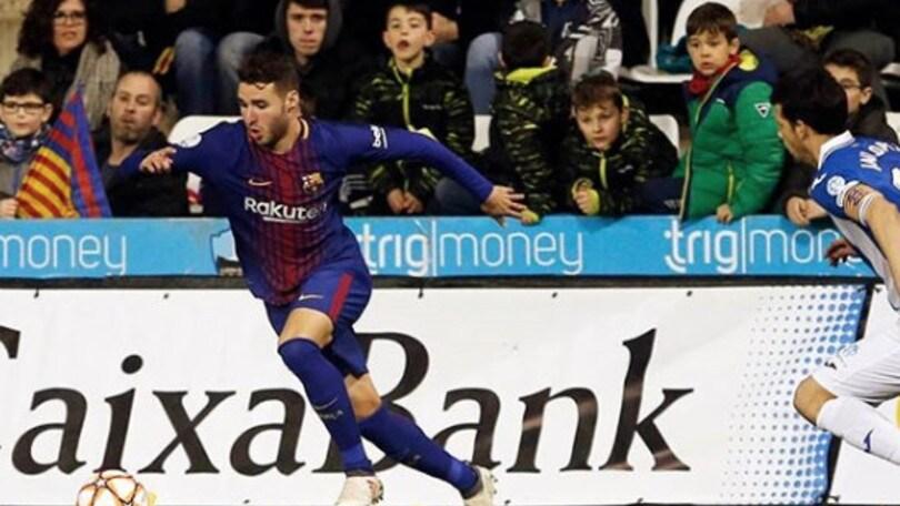 Abel Ruiz, il Barcellona in azione per blindarlo