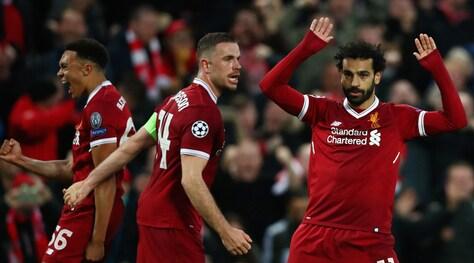 Doppietta Salah: l'egiziano esulta ma chiede scusa ai tifosi della Roma