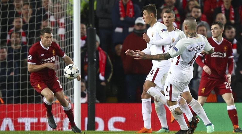 Liverpool-Roma 5-2: Salah show, ora serve un'altra impresa