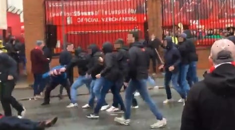Liverpool-Roma, assalto ai tifosi inglesi poco prima della partita