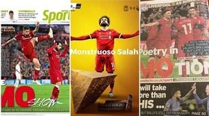Liverpool-Roma, la rassegna della stampa inglese