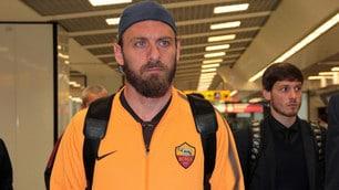 Roma, c'è delusione al rientro da Liverpool
