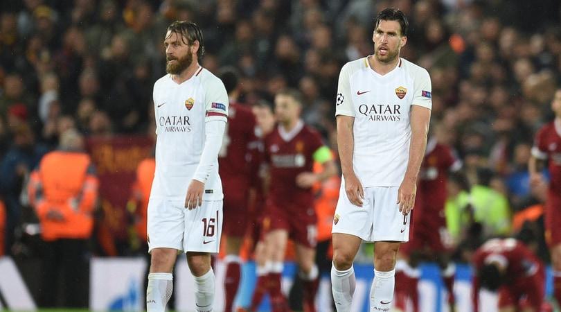 Roma, Strootman e Perotti infortunati: rischiano il Chievo