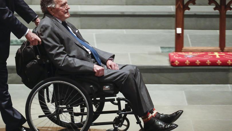Bush sta meglio, fine terapia intensiva
