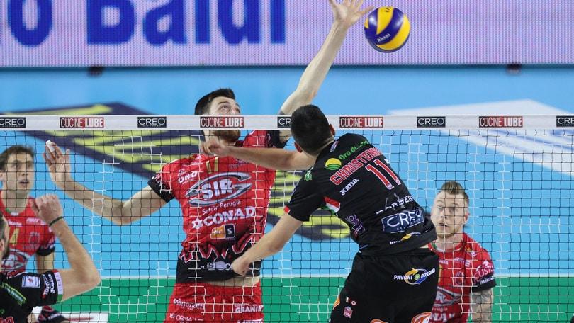Volley: Superlega, Lube che rimonta ! la finale torna in parità