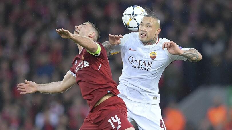 Champions League Roma, Nainggolan: «Liverpool? Abbiamo sbagliato, ma non è finita»