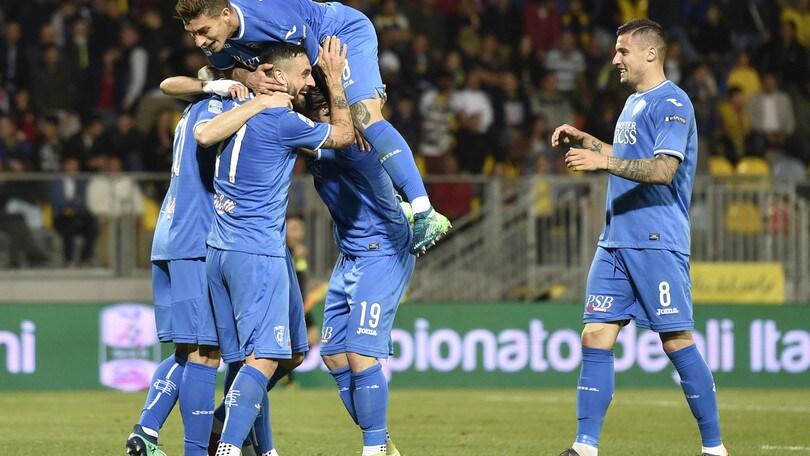 Serie B: vittoria-promozione dell'Empoli a 1,44