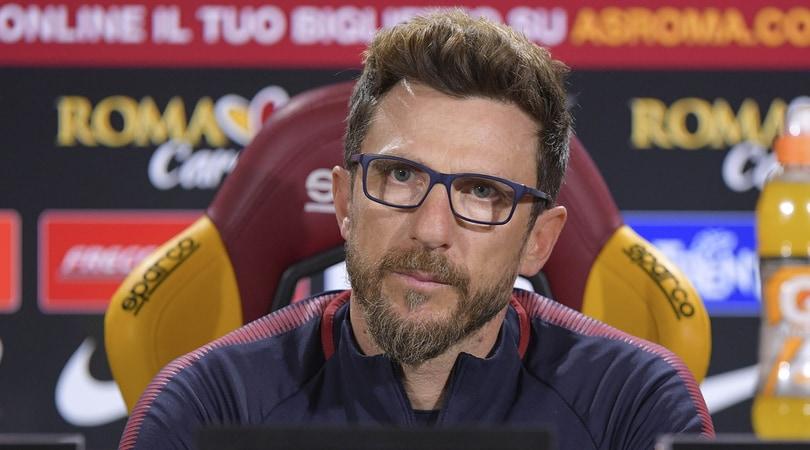 Roma, Di Francesco: «Vicini a Sean Cox. Il Liverpool? Prima c'è il Chievo»