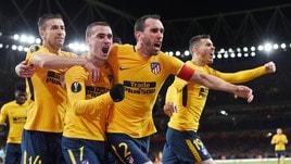 Europa League, i quotisti vedono l'Atletico in finale