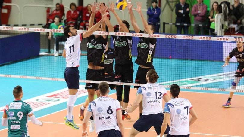 Volley: Superlega, Padova-Monza finale secca per l'Europa