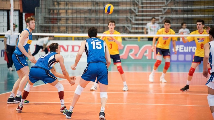 Volley: Europei Under 20, gli azzurri vincono 3-1 con la Spagna
