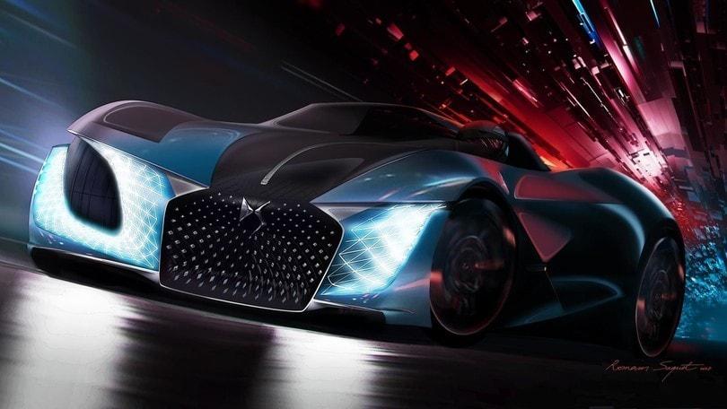 DS immagina un futuro senza limiti con dream car X E-Tense