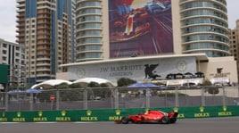 F1: Azerbaigian; la Ferrari vola, Vettel ancora in pole