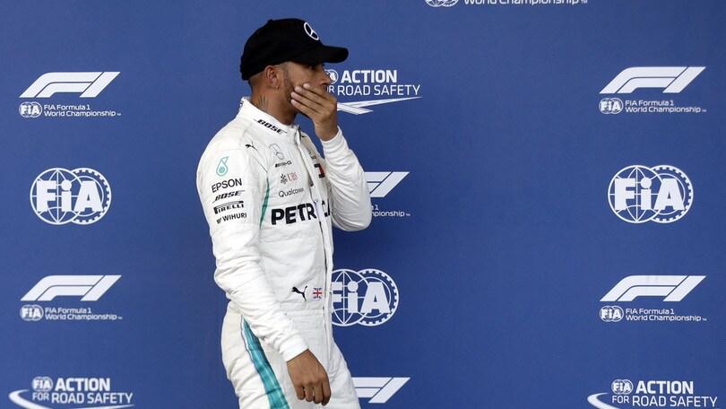 F1 Mercedes, Hamilton: «Ferrari fenomenale quest'anno»