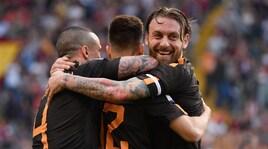 Roma-Chievo 4-1: ancora Schick, doppio Dzeko ed El Shaarawy