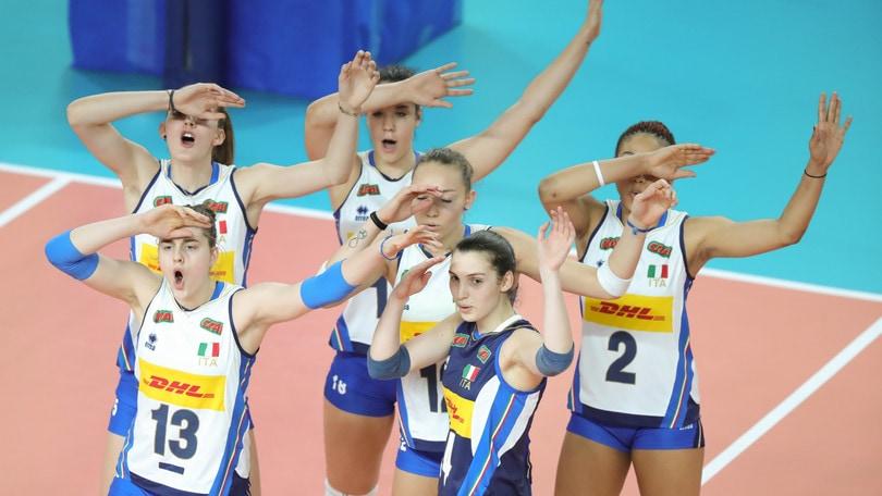 Volley: Europei Under 19, l'Italia stacca il pass per le finali
