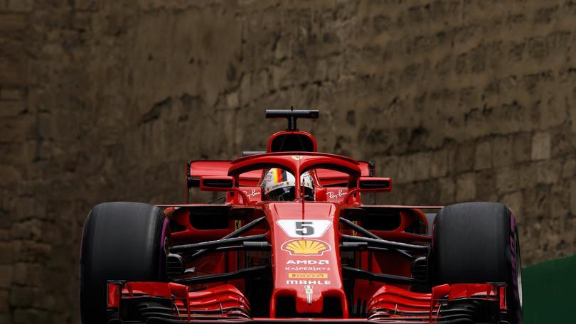 F1: Azerbaigian, Vettel davanti a tutti
