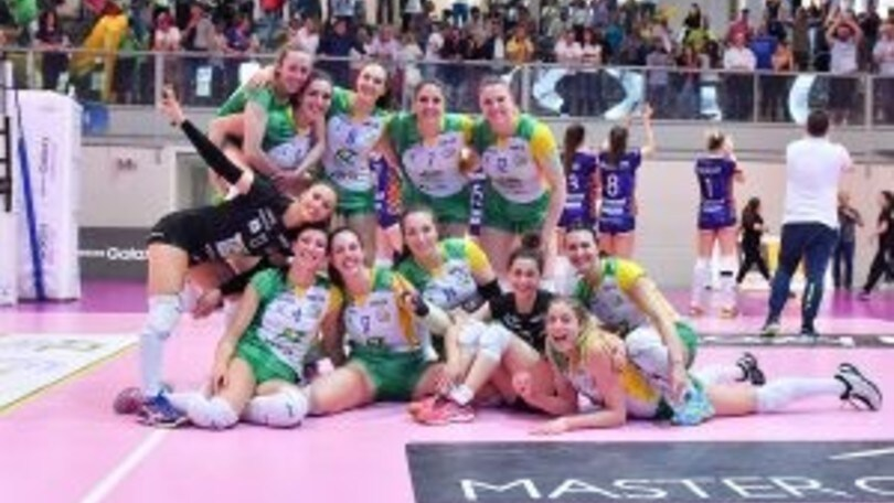 Volley: A2 Femminile, le due semifinali Play Off vanno alla bella