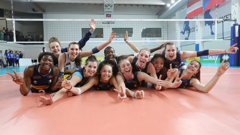 Volley: Volley: Europei Under 19, l'Italia chiude battendo la Repubblica Ceca