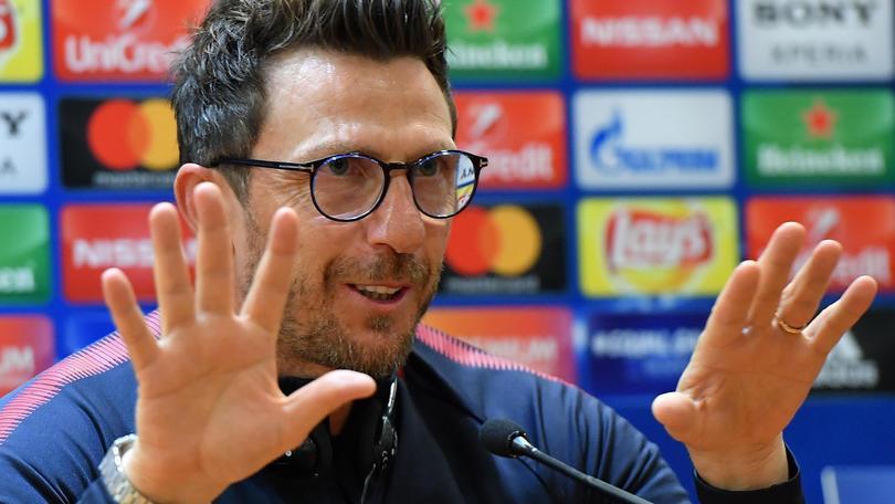 Roma-Liverpool: Di Francesco, sia gioia