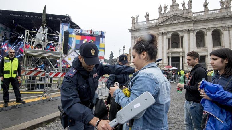 Concertone e Roma-Liverpool,scatta piano